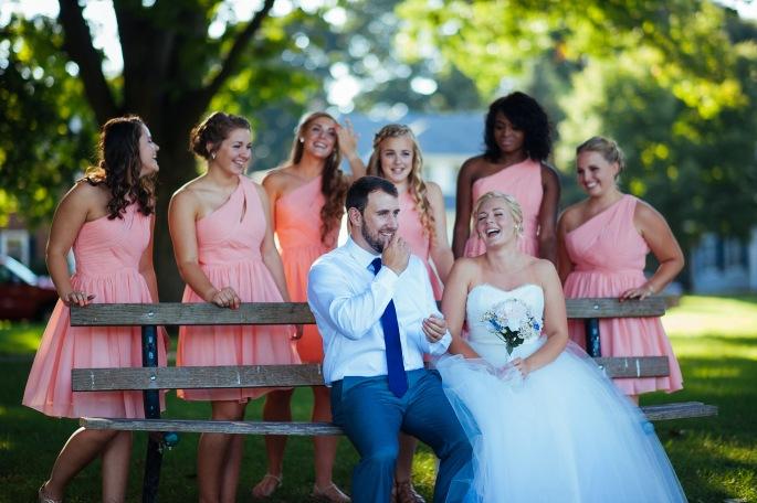 Private Ceremony Reception Later: Grace + Erik's Wedding Celebration